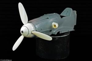 RC3212 Кок и лопасти винта для Bf109K