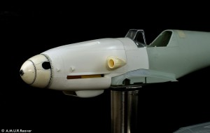RC3214 Bf109G-10 Erla corrected nose section set