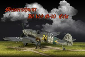 Revell 1/32 Bf109G-10 Erla от Виктора Клочкова